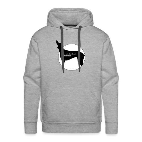 SGCP LOGO WHITE CENTRE - Men's Premium Hoodie