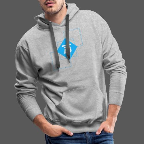BTITANS Geometric Logo Print - Männer Premium Hoodie