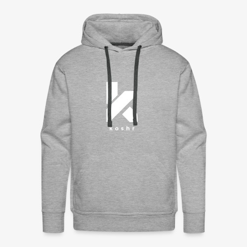 Koshr Official Logo - - Men's Premium Hoodie