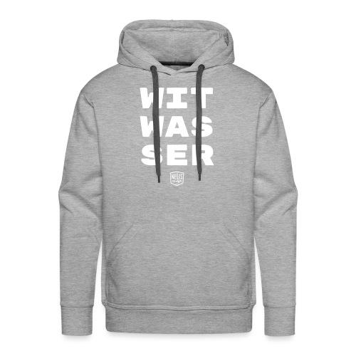 WITWASSER 03 - Mannen Premium hoodie