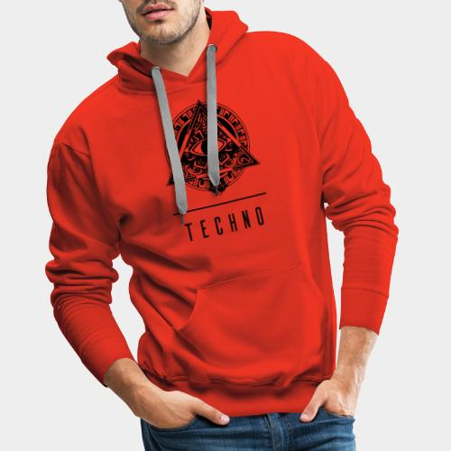 the EYE of TECHNO - Männer Premium Hoodie
