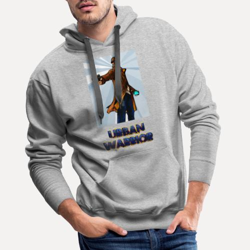 Urban Warrior - Men's Premium Hoodie