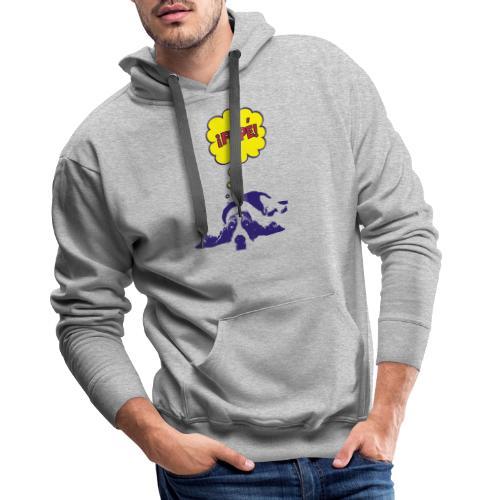 fiple - Sudadera con capucha premium para hombre