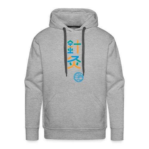 Aku-Moxa 3-farbig - Männer Premium Hoodie