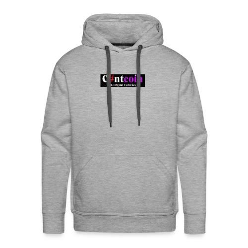 Cuntcoin header - Men's Premium Hoodie