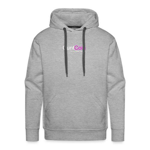 CuntCoin w/p - Men's Premium Hoodie
