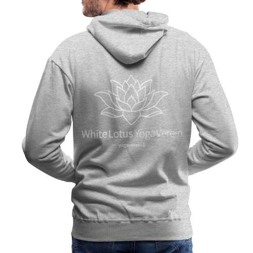 Jacket White Lotus Yoga Verein - Männer Premium Hoodie