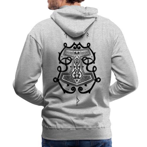 Mjöllnir - Sweat-shirt à capuche Premium pour hommes