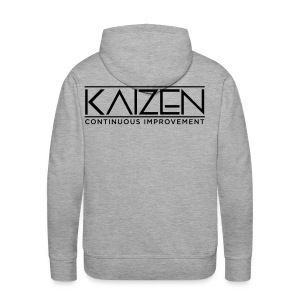 Kaizen Continous Improvement - Men's Premium Hoodie