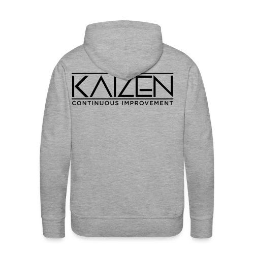 Kaizen Continous Improvement - Men's Premium Hoodie