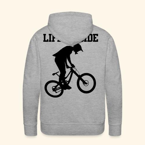 Mountainbike - Männer Premium Hoodie