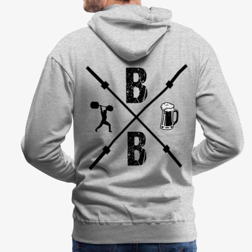 Beers and Bars - Men's Premium Hoodie