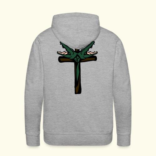 O.DD cross - Sweat-shirt à capuche Premium pour hommes