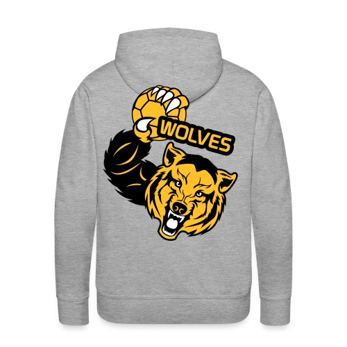 Wolves Handball - Sweat-shirt à capuche Premium pour hommes