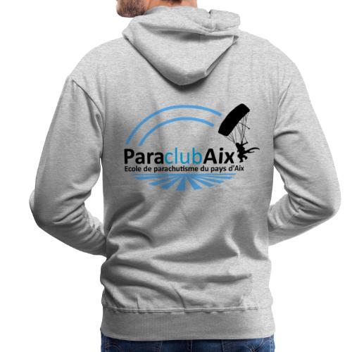 paraclubaix - Sweat-shirt à capuche Premium pour hommes