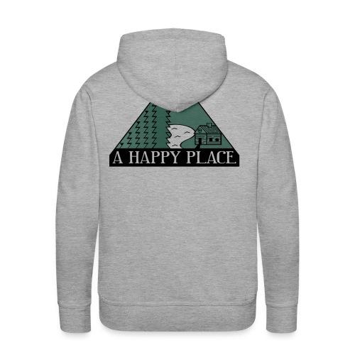 A Happy Place - Men's Premium Hoodie