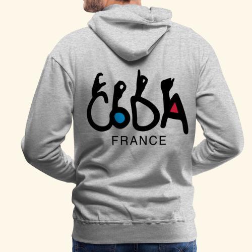 CodaFrance - Sweat-shirt à capuche Premium pour hommes