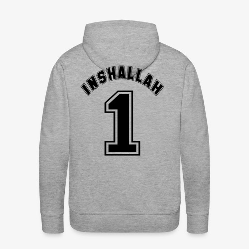 Inshallah 1 - Männer Premium Hoodie