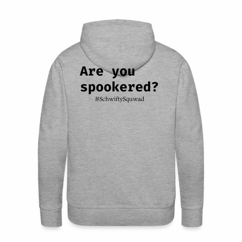 SchwiftySquwad Spookered - Men's Premium Hoodie