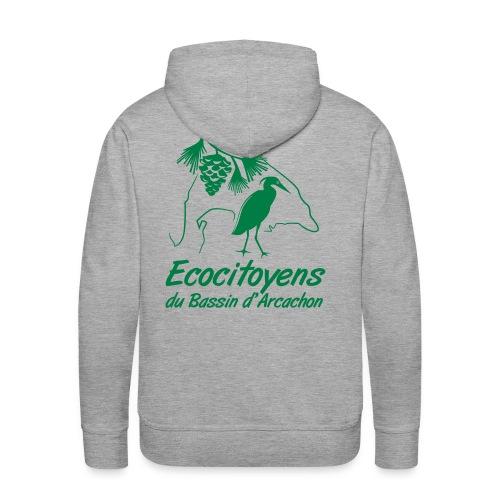 EBA - Sweat-shirt à capuche Premium pour hommes