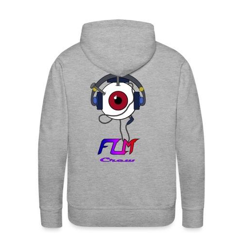 FLM Crew - Sweat-shirt à capuche Premium pour hommes