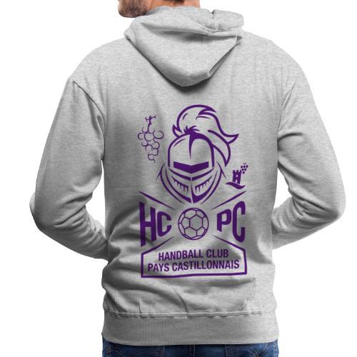 OFFICIEL HCPC - Sweat-shirt à capuche Premium pour hommes