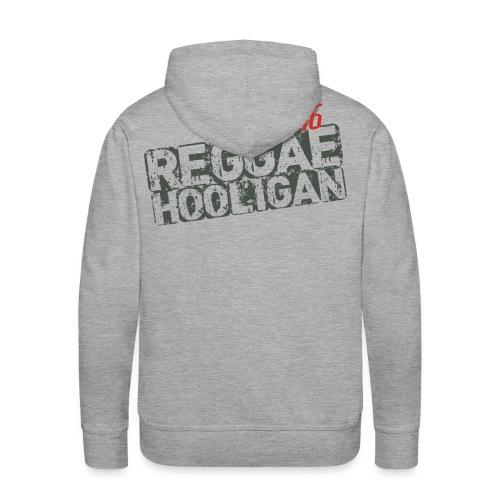 Reggae Hooligan 54 46 - Sudadera con capucha premium para hombre