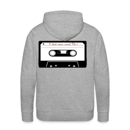 CMA Concept K7 - Sweat-shirt à capuche Premium pour hommes
