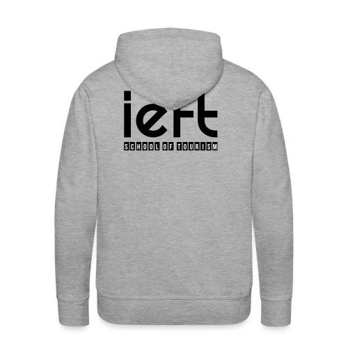 LOGO IEFT Noir - Sweat-shirt à capuche Premium pour hommes