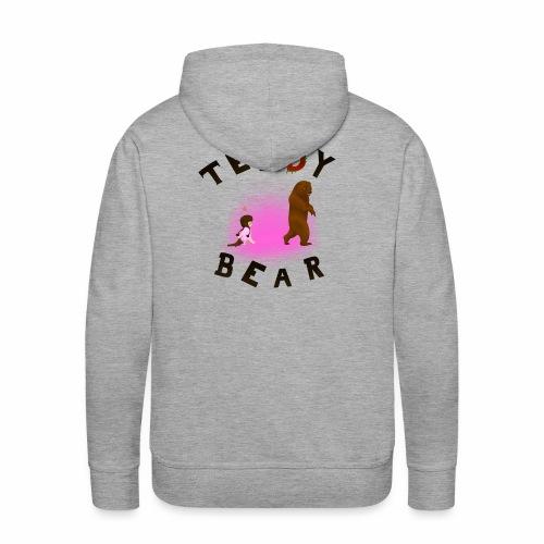 Teddy Bear - Sweat-shirt à capuche Premium pour hommes