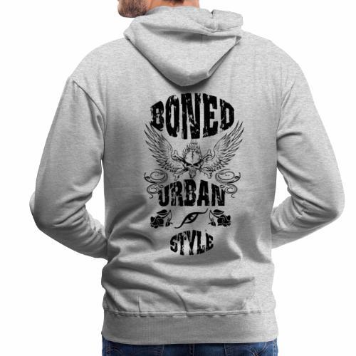 URBAN STYLE - Sudadera con capucha premium para hombre