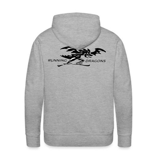 Running Dragons - Männer Premium Hoodie