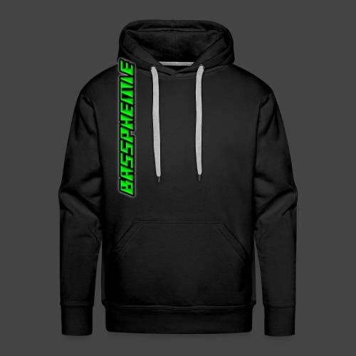 Bassphemie - Neongrün - Männer Premium Hoodie