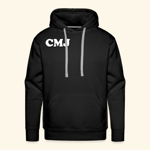 CMJ white merch - Men's Premium Hoodie