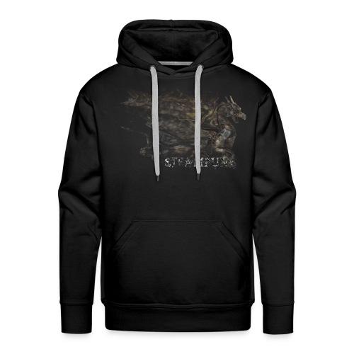 Steampunk Dragon - Sudadera con capucha premium para hombre
