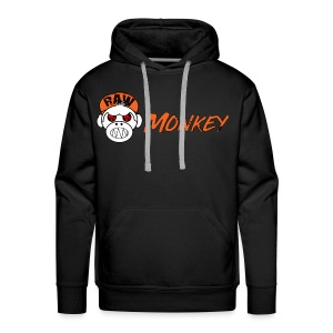 Raw Monkey Logo - Sweat-shirt à capuche Premium pour hommes