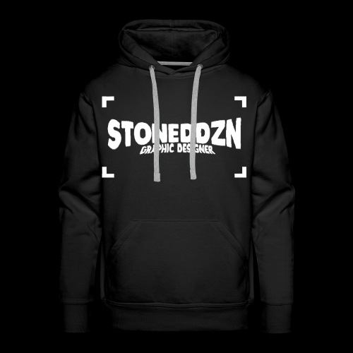 Da ist das YouTube Logo von StonedDzn - Männer Premium Hoodie