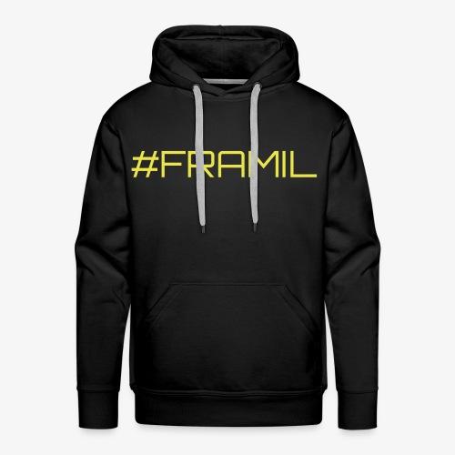 #framil - Miesten premium-huppari