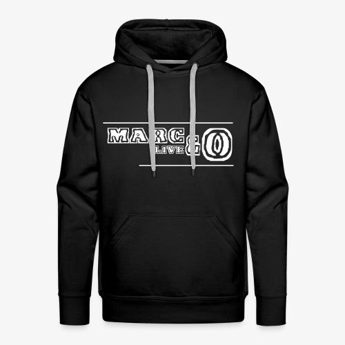 Marc&O_LivE schwarz - Männer Premium Hoodie