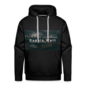 Original Raphis Welt Kanalbanner - Männer Premium Hoodie