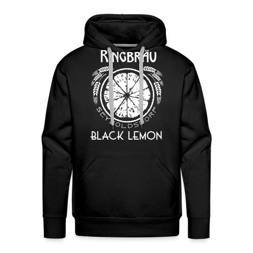 Ringbräu Black Lemon/DARK - Männer Premium Hoodie