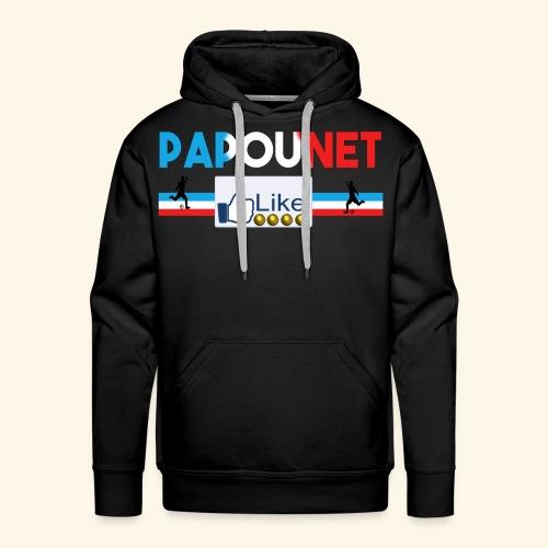 Papounet - Sweat-shirt à capuche Premium pour hommes