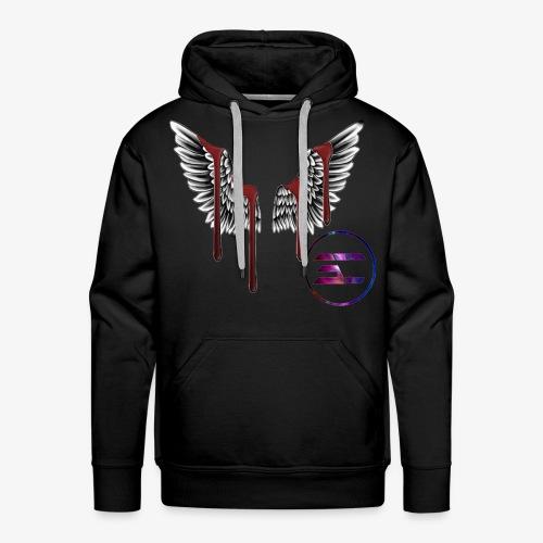 cool wings design - Men's Premium Hoodie