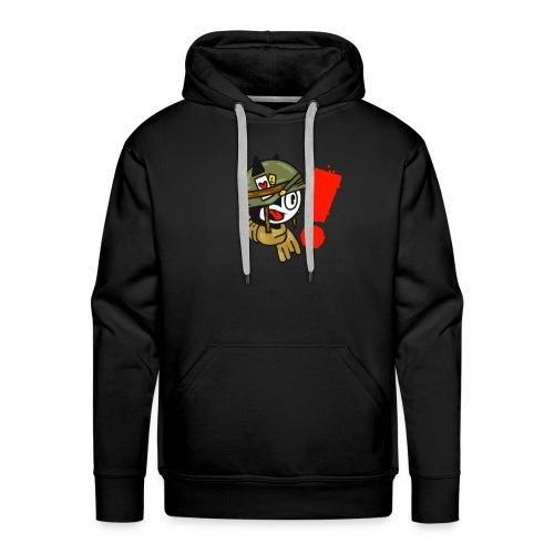 soldaat kat - Mannen Premium hoodie