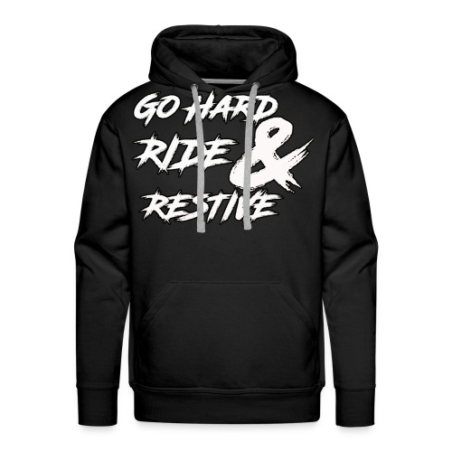 Go hard - Men's Premium Hoodie