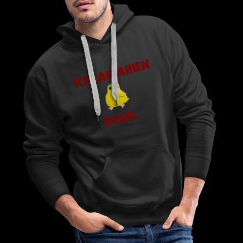 koka vogel - Männer Premium Hoodie