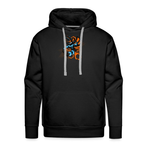 logo wasp - Sweat-shirt à capuche Premium pour hommes