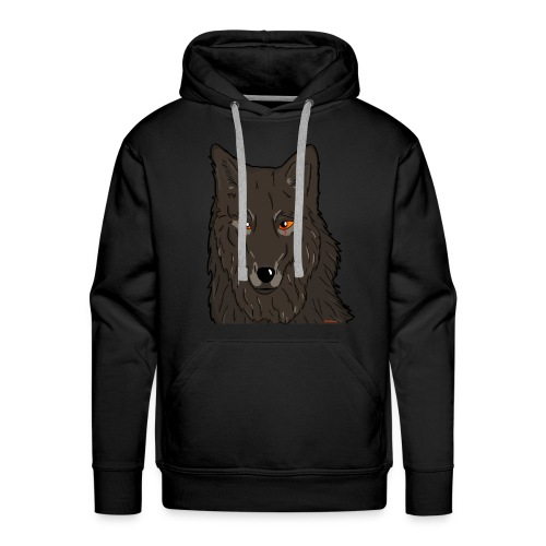 HikingMantis Wolf png - Herre Premium hættetrøje