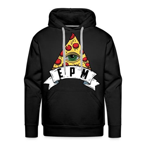 EPM - Felpa con cappuccio premium da uomo
