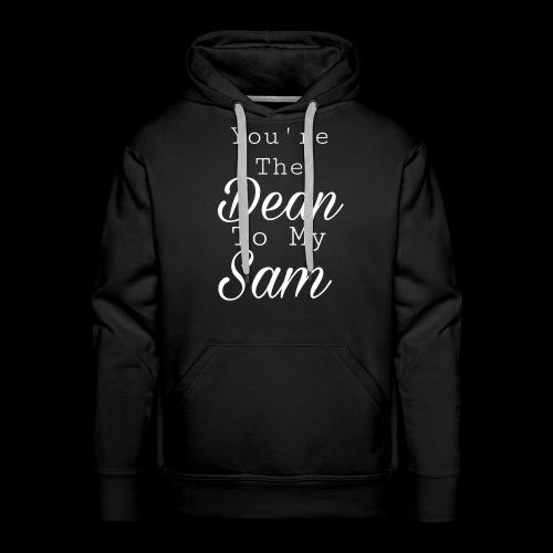 You're the Dean to my Sammy - Sweat-shirt à capuche Premium pour hommes